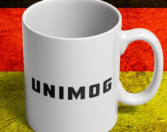 Unimog mug for german trucks fan
