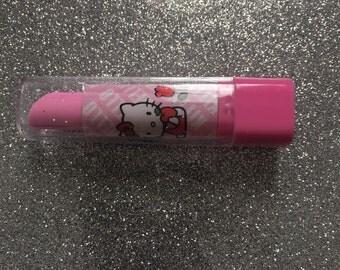Kawaii Hello kitty eraser lipstick