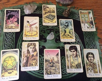 Business Plan Tarot Reading via Email. PDF format with photos.