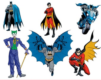 Batman die cuts