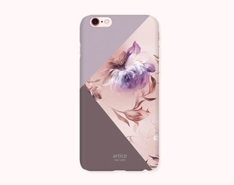 Final Sale Floral iPhone 6S Case, iPhone 6 Case, iPhone 6S Cover, iPhone 6 Cover - Luxury Flower Block