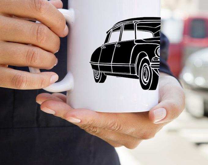 KillerBeeMoto:  U.S. Made French Engineered Car Design On White Coffee Mug