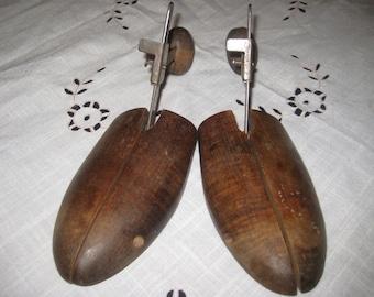 Antique Wooden Shoe Stretchers
