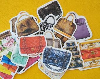 Scrapbook Sticker --Filofax Stickers--Fashion Bags No.3