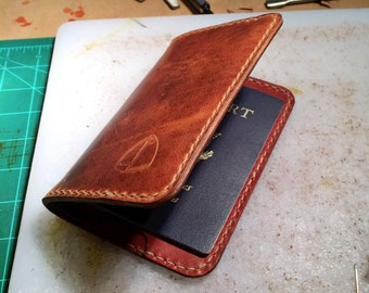 Travel Journal Leather Wallet