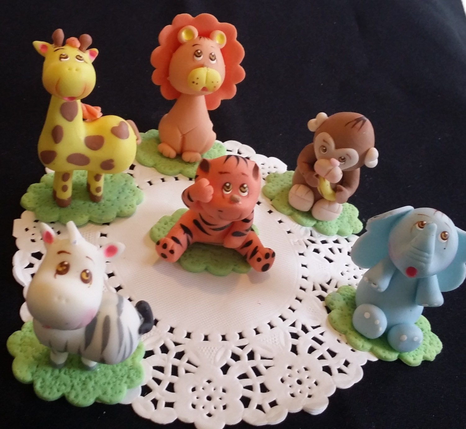 Safari baby shower decorations jungle theme party boy baby for Baby decoration safari