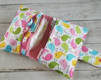 Small Diaper Bag   Diaper Bag Organizer   Diaper Clutch   Diaper Wipe Case   Diaper Clutch with Changing Pad   Baby Shower Gift Girl