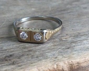 F&F Felger vintage diamond ring.