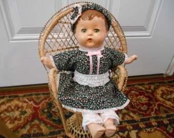 "1920s-30s composite 15"" doll"