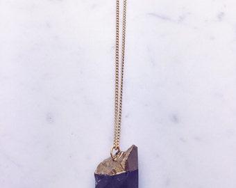 Large Smokey Quartz Necklace
