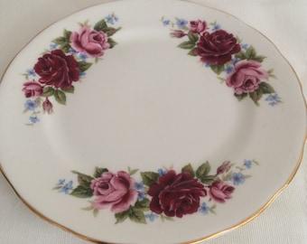 Queen Anne side plate c1960