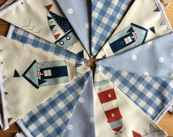Boys Nautical Bunting Laura Ashley Gingham