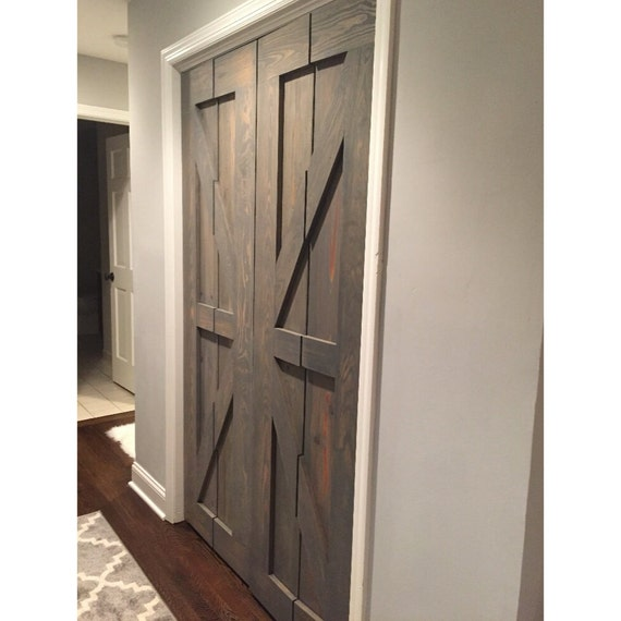 Bifold Pantry Doors : Hinged bi fold sliding pantry doors by rustic luxe