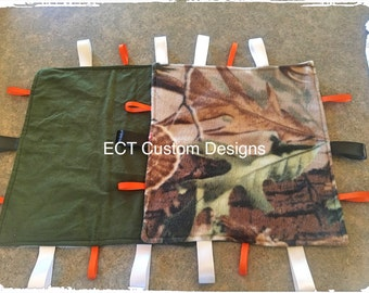 Camo ribbon blanket
