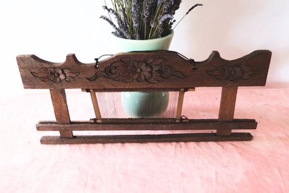 Wall Art Loom Kit : Wooden loom decorative wall hanging folk art hand