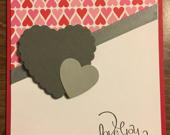 Lots of Hearts Valentines Day Card