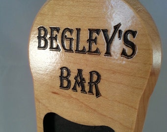 Custom Beer Tap Handles,  Recessed Chalkboard, customized personalized birthday gift  wedding gift anniversary gift housewarming gift