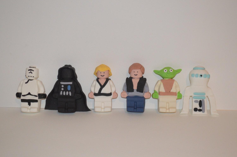 Star Wars Fondant Cake Toppers star wars cake topper fondant