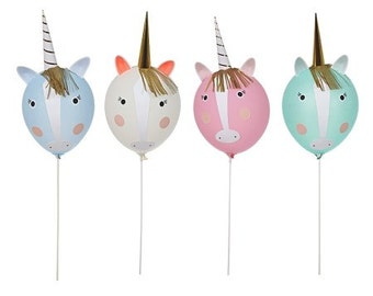 Unicorn Balloon Kit,  Meri Meri Birthday party