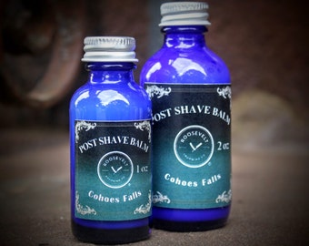 Post Shave Balm - Cohoes Falls (A Clean, Fresh, Spring Scent)