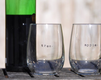Fathers day gift from daughter gift for dad personalized gift from kids dad gift for him father of the bride first fathers day wine glasses