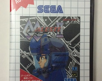 GG Aleste 2 - Boxed - Game Gear to SMS conversion