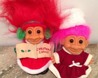 Christmas Trolls Lot