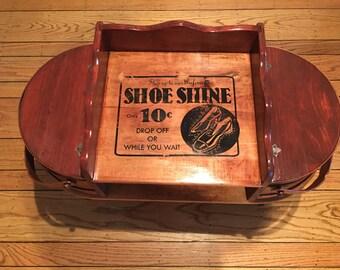 Shoe Shine Table/Seat