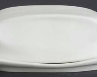Iroquis 'Casual-white' Butter Dish 1/4lb