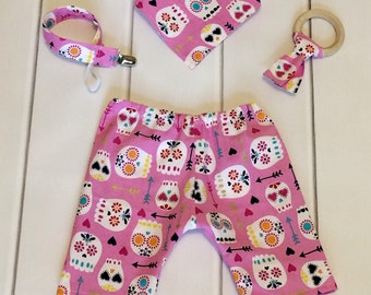 Sugar Skull Baby - Chic Baby Clothes - Modern Baby Clothes - Cool Baby Clothes - Boutique Baby Clothes - Hip Baby Clothes - Baby Shower Gift