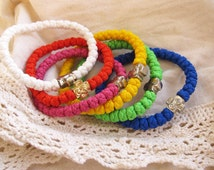 Brojanica, Orthodox Serbian Prayer rope, Komboskini, Chotki, cross 001, braided bracelet, 33 knots