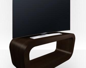Walnut Gloss TV Stand - Hooptangle