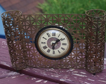 Fab Vintage Mid Century Lanshire Table Top Clock