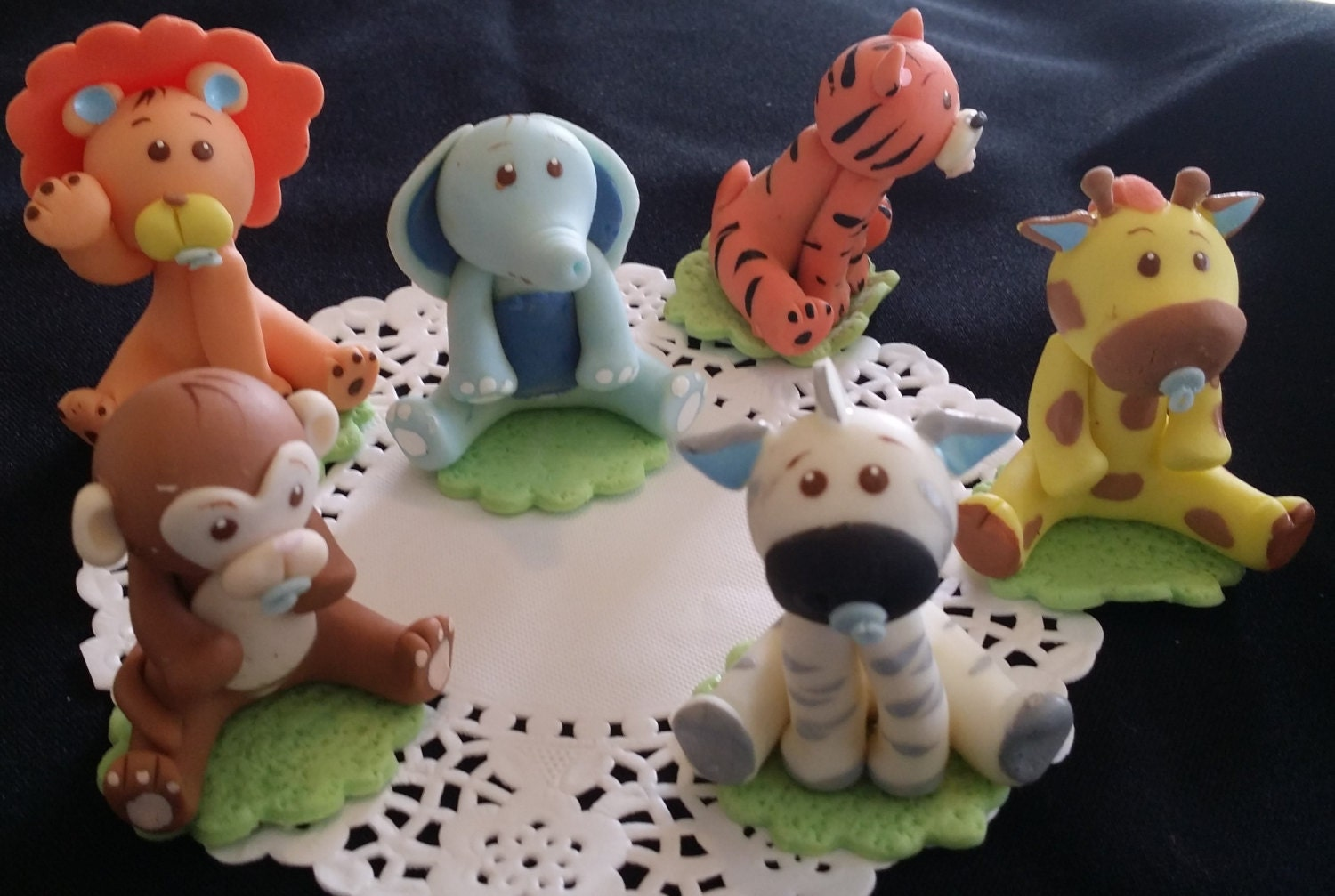 jungle caketoppers jungle baby shower by caketoppersboutique