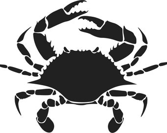 Crab-Maryland Blue Crab Decal
