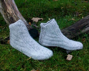 Hand knitted Wool Socks for Women
