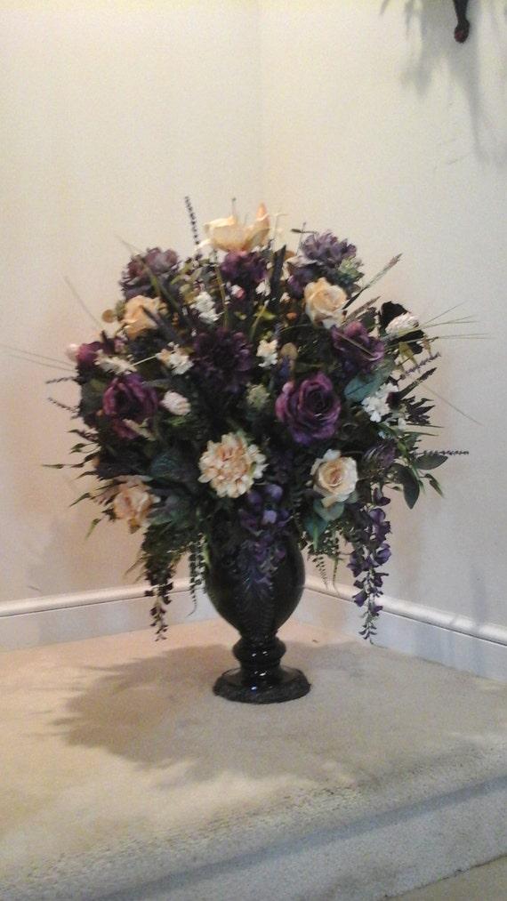 Xl Floral Arrangement Floral Centerpiece Shipping Included