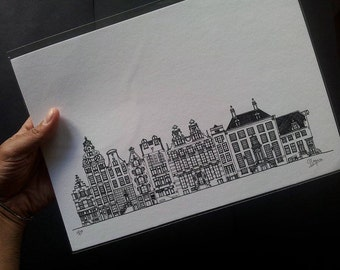 Amsterdam Architecture Print II