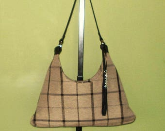 Handbags, Shoulder bags, Purses, Cloth Purses, Fabric Purses, Beige Handbags, Beige Purses, J'NING Handbags, J'NING Accessories