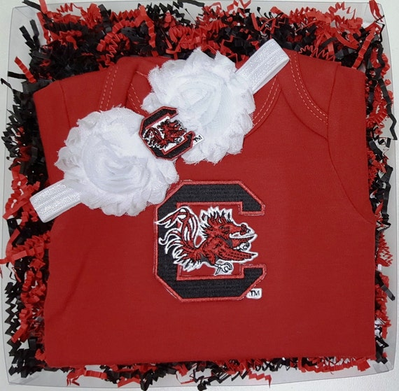 South Carolina Gamecocks Game Day Gal Baby Clothing Gift Set