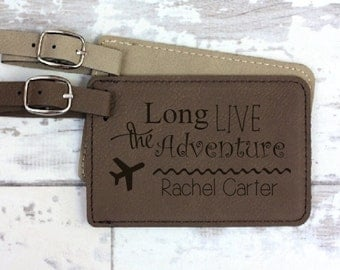 Luggage Tag - Engraved and Personalized