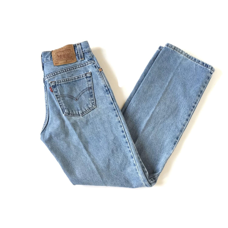 vintage levi 39 s 555 boyfriend jeans. Black Bedroom Furniture Sets. Home Design Ideas