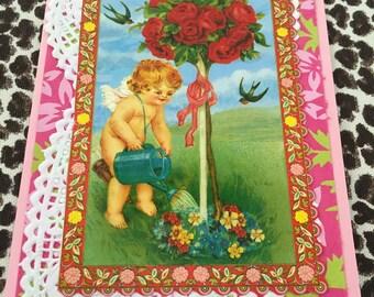Embellished Vintage Valentine