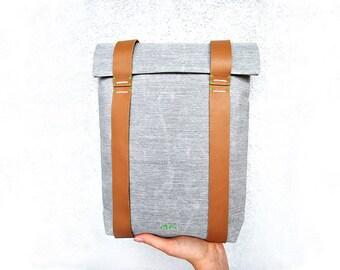 Small backpack purse, mini canvas backpack, tiny minimalist rucksack, Mini custom rucksack