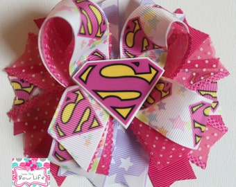 Supergirl Boutique Bow