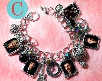 Queen  freddie mercury  Charm bracelet necklace