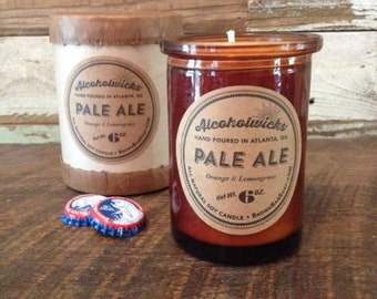 Pale Ale candle