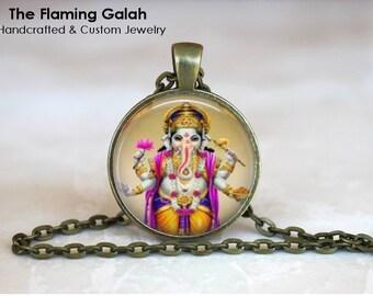 GANESH Pendant •  Indian God of Wisdom •  God Of Learning •  Elephant Head God •  Hindu God •  Made in Australia •  (P0689)