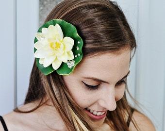 Tiana Headband Princess And The Frog Flower Headpiece ,Princess Tiana Flower Headband, Princess Tiana Costume,Princess Tiana Accessories