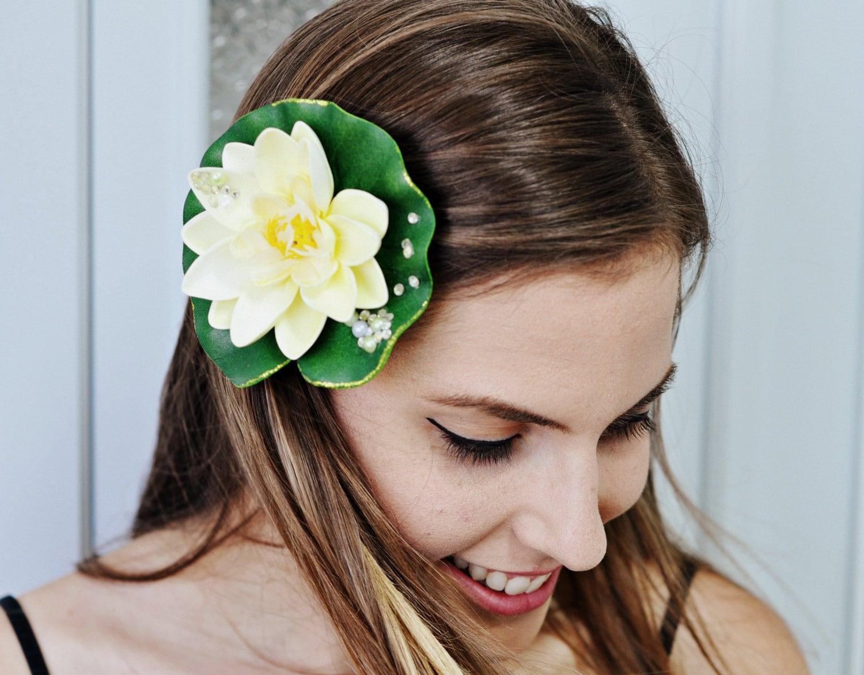 tiana headband princess and the frog flower headpiece